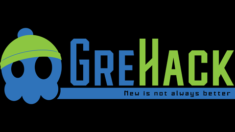 Logo of GreHack 2018