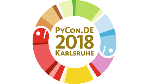 Logo of PyCon.DE 2018